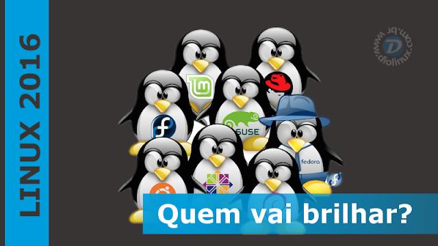 Melhores distros Linux de 2016