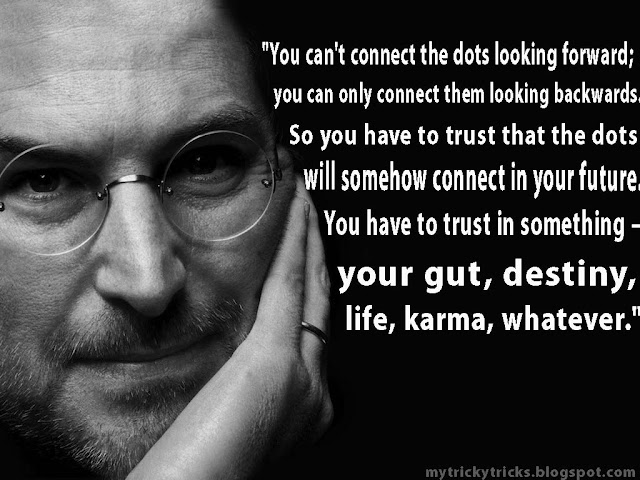 gut, destiny, life, karma,steve jobs wallpaper,steve jobs stanford speech,steve jobs wallpapers hd, wallpapers of steve jobs,steve jobs