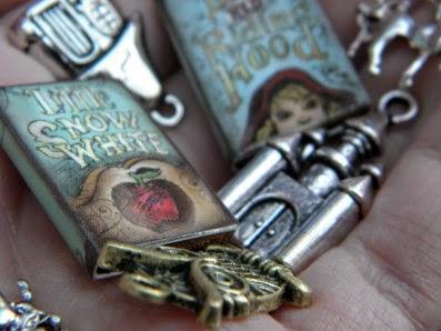 Fairy tale zipper charms!