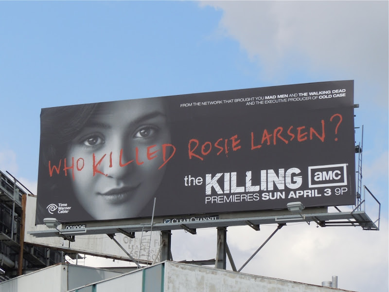 The Killing Rosie Larsen billboard