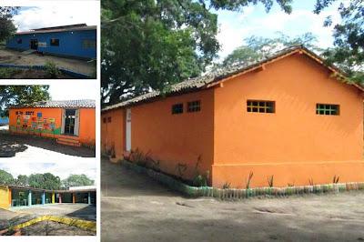 Reforma no prédio da instituição