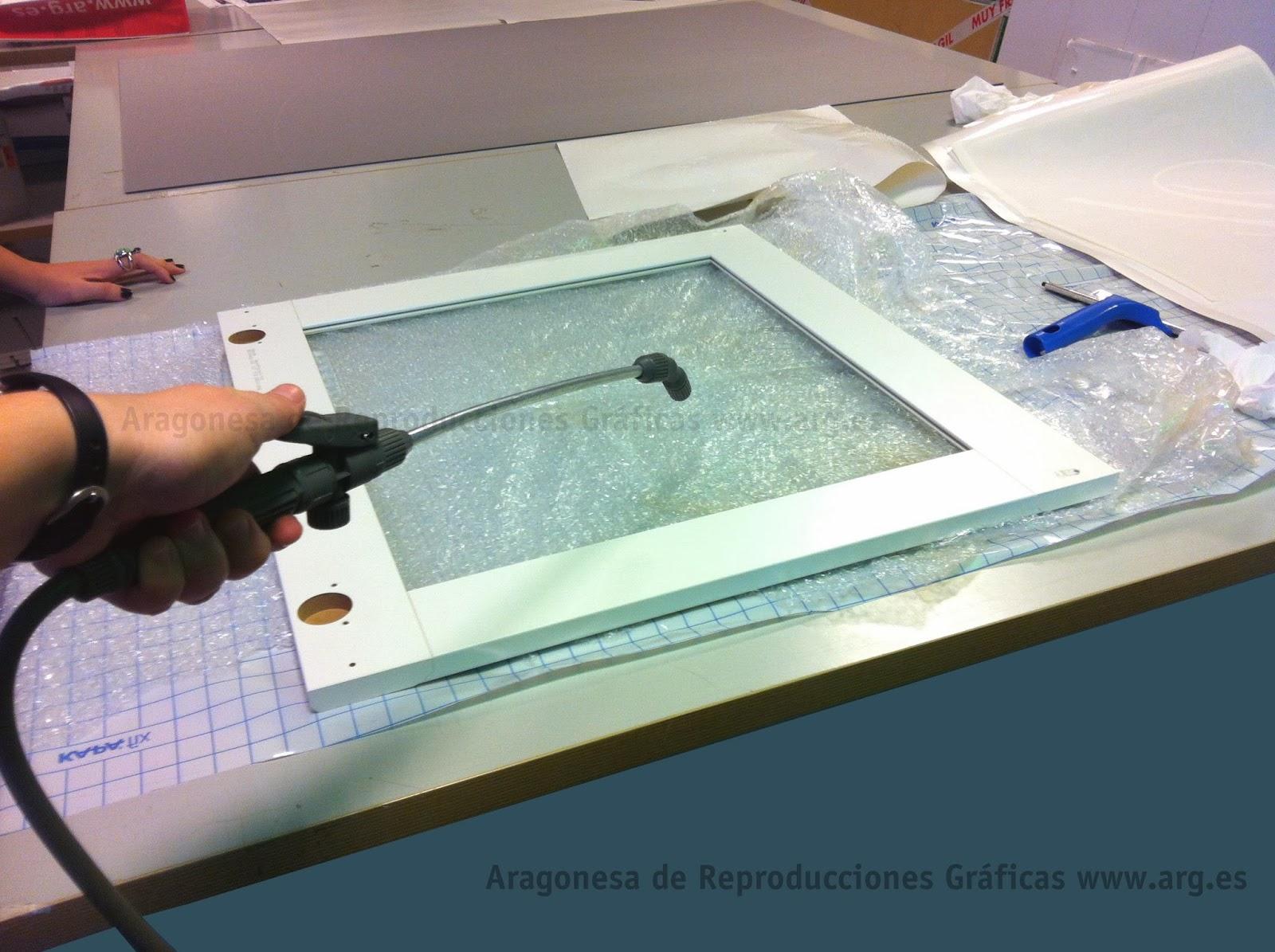 Quitar vinilo de cristal excellent cmo instalar vinilo - Quitar pegamento cristal ...