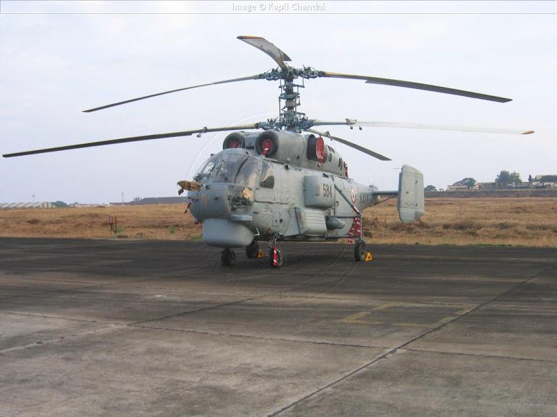 KA-28 Helix Rusian Naval Helicopter
