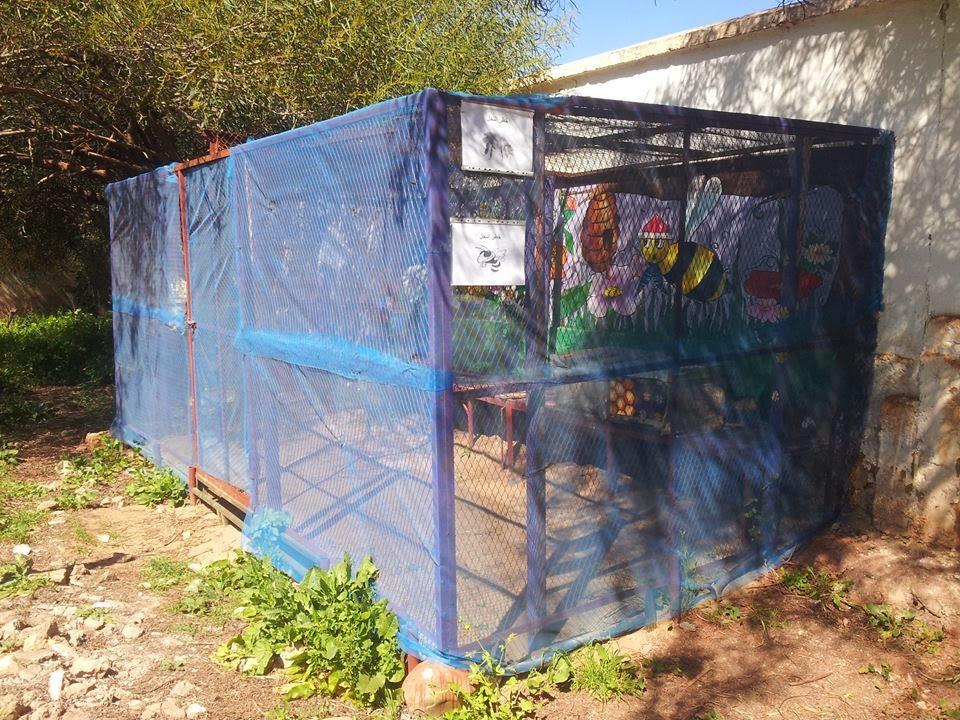 النادي البيئي لثانوية عبد الله بن ياسين الإعدادية بالرماني نيابة الخميسات ينشئ خلية بيداغوجية لتعلم تربية النحل