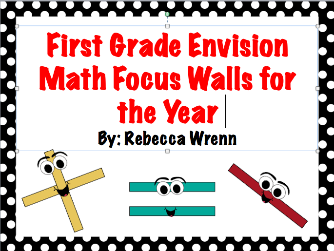 The Best of Teacher Entrepreneurs First Grade Envision Math Focus – Envision Math 5th Grade Worksheets