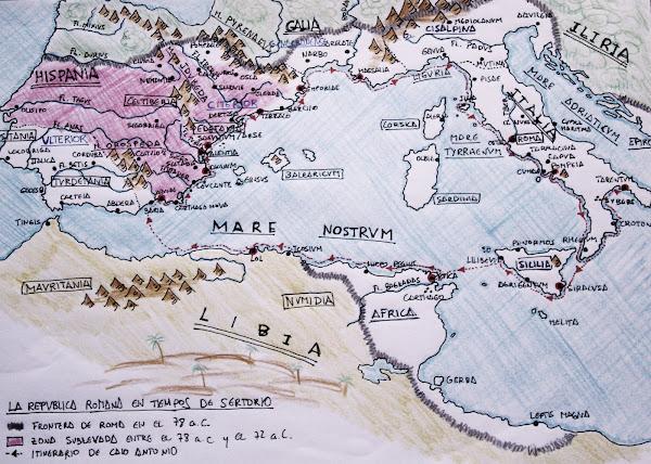 El Viaje de Cayo Antonio por el Mare Internum