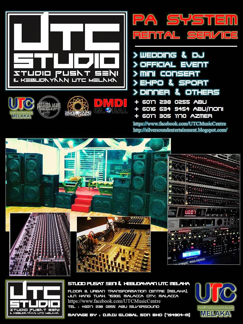 Silver Sound Entertainment Sewaan Sound System Pa System