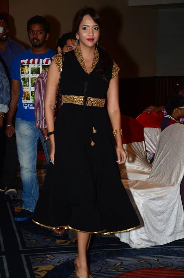 Lakshmi Prasanna in saree stills