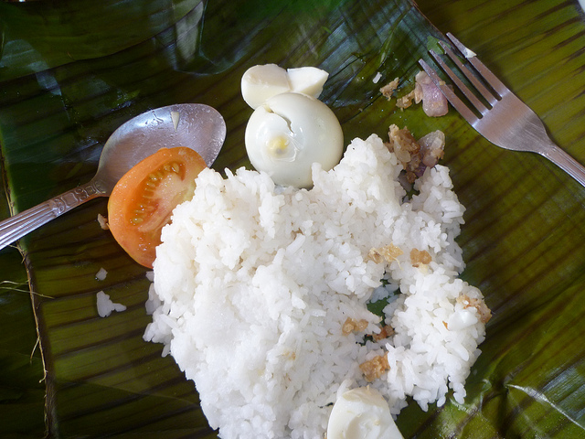Binalot Filipino Rice Meal