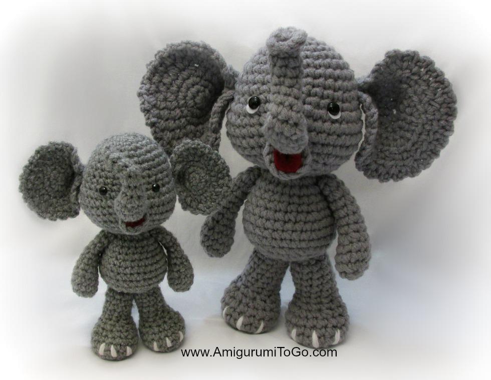 Amigurumi Elephant Easy : Easy Way To Enlarge Amigurumi Patterns ~ Amigurumi To Go