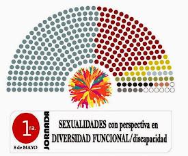 1° JORNADA: SEXUALIDADES con PERSPECTIVA en DIVERSIDAD FUNCIONAL/discapacidad