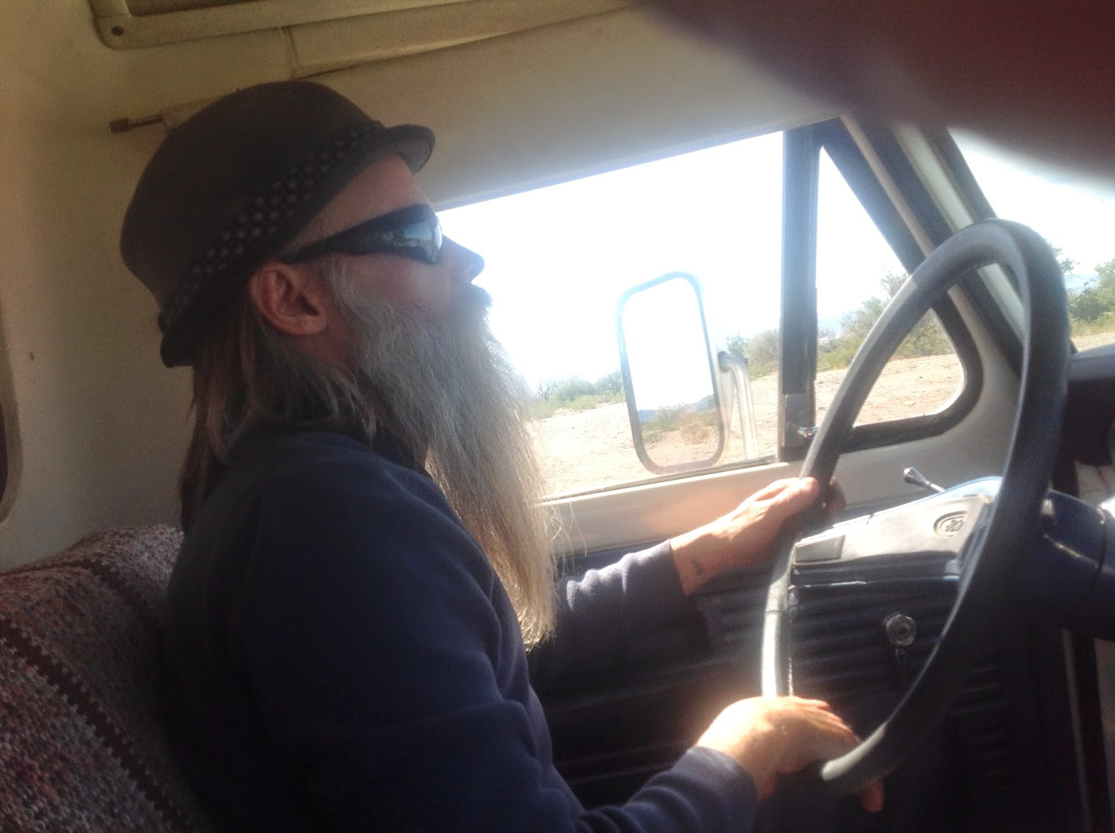 Jon WATTO Watson Driving to Lake Havasu 2014
