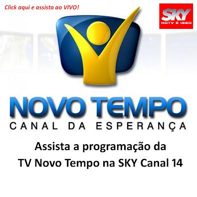 SKY CANAL 14 - TV NOVO TEMPO