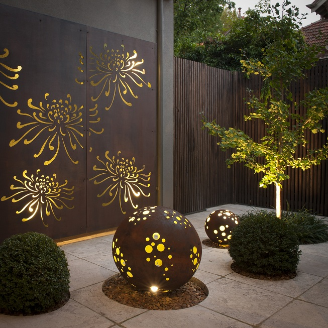 yard design ideas tree lighting html with Corten Steel on Long Light Of Spring besides New York Rooftop Terrace With Covered Pergola Featuring Custom 4dac38fcded2a2f4 together with Garden edges also Wine Bottle Ideas For Garden also Wood Almirah Designs.