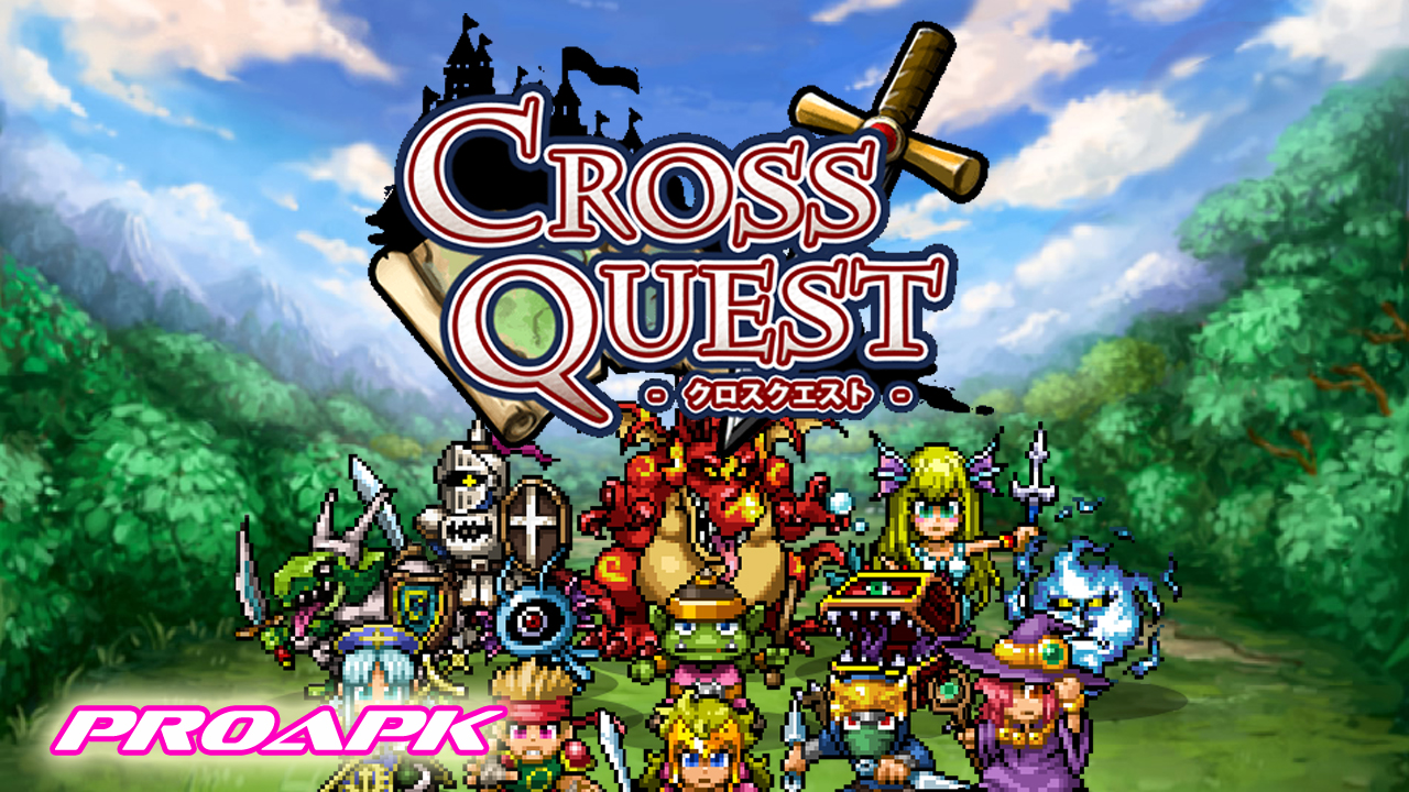 CROSS QUEST (JP) Gameplay IOS / Android
