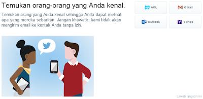 Cara Membuat Akun Twitter Terbaru 2015 Lengkap dengan Gambar
