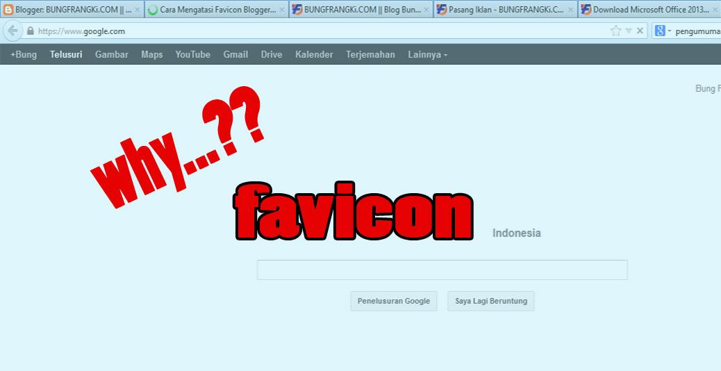Mengapa Harus Pasang Favicon di Blog?