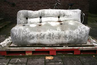 The Dutch Designer Nacho Carbonell Designed The Prototype For A Concrete  Couch Cast On Site In Flexible Formwork.   Back In 2007.
