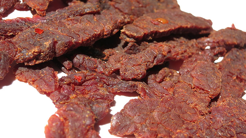 ghost pepper jerky