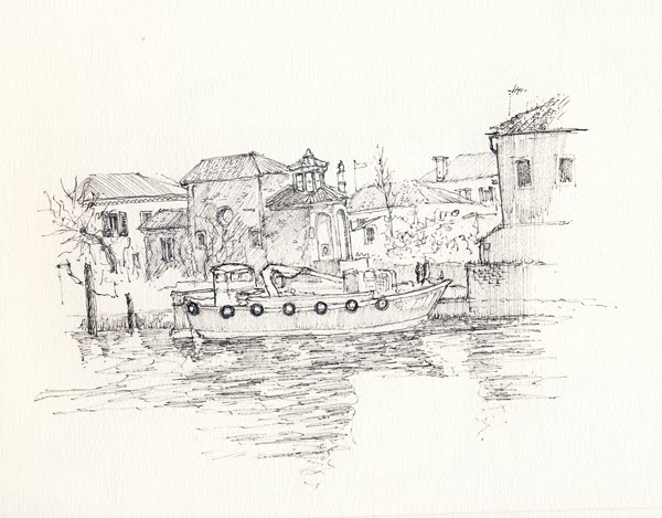 Scarabocchi per la strada venezia in bianco e nero for Mappa mondo bianco e nero