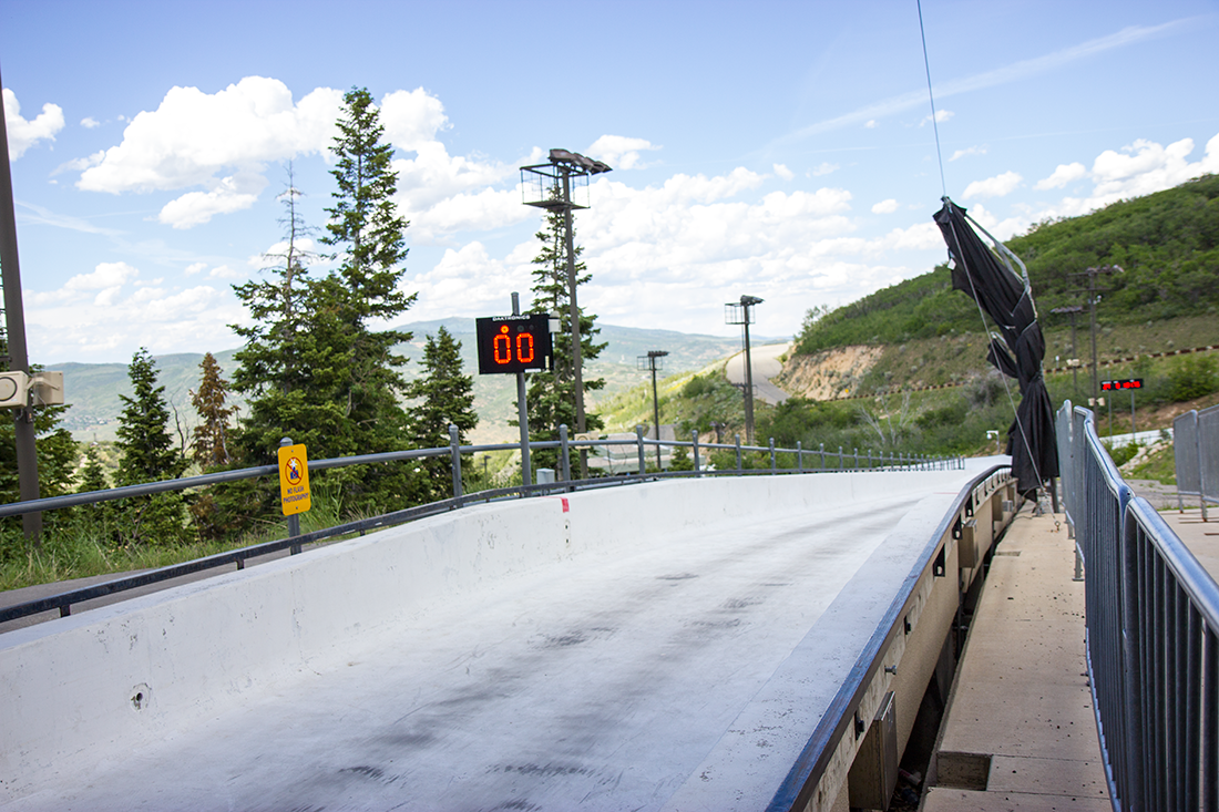 Olympic Bobsled Track