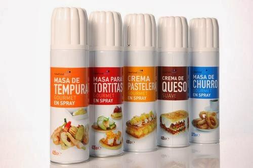 COMIDA EN SPRAY NEW FOOD SPRAY DE MUGARITZ