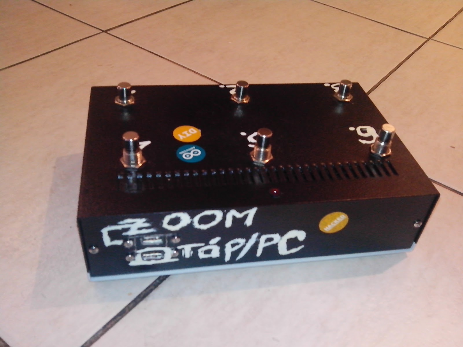 Arduino based midi patch changer for zoom ms g