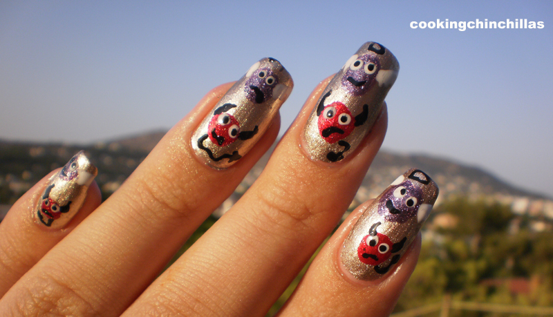 Cookingchinchillas Devil And Angel Nail Art Design
