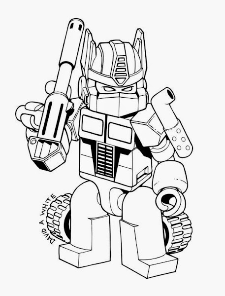 Transformer optimus prime coloring pages free for Ironhide coloring pages