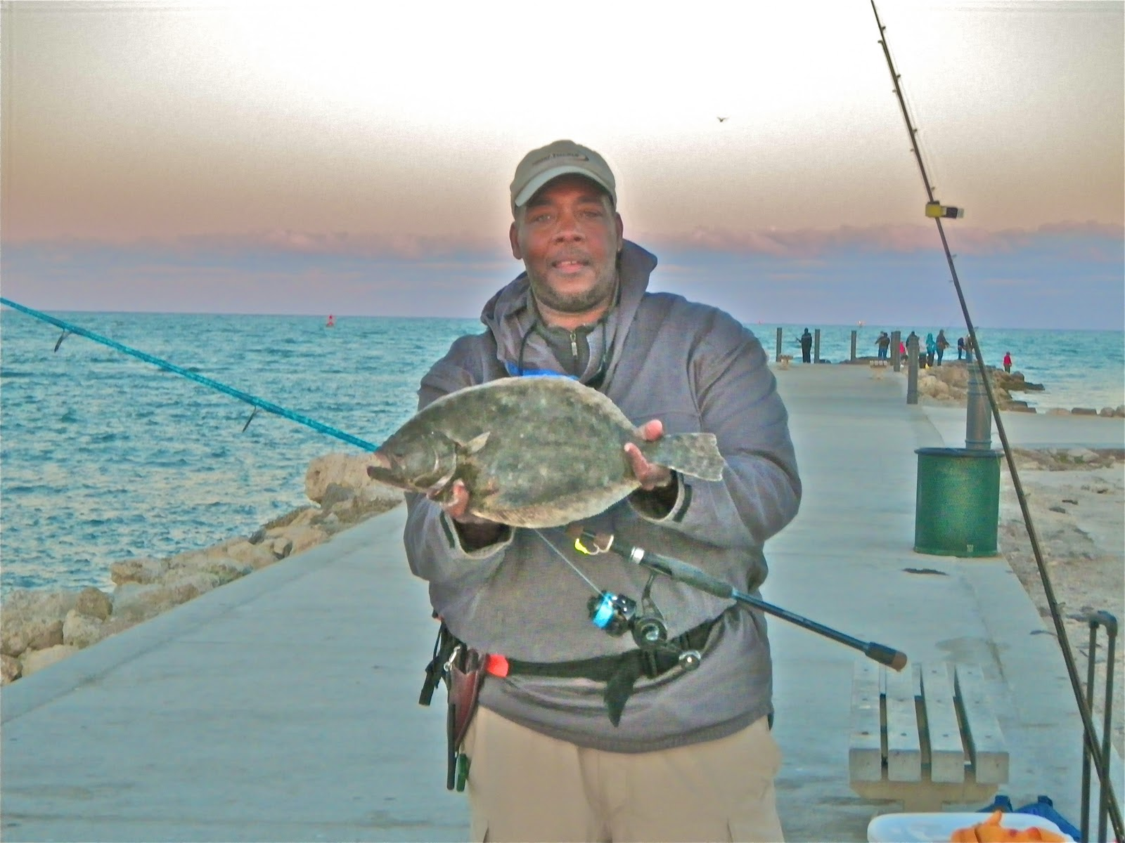 On foot angler march 2011 for Snook nook fishing report