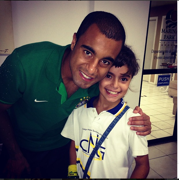 Neymar And Lucas Moura: World Da Fama&Dicas Modisticas: Junho 2013