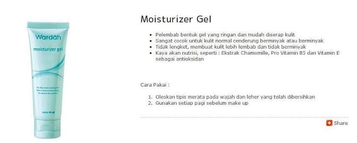 Moisturizer Gel -$7