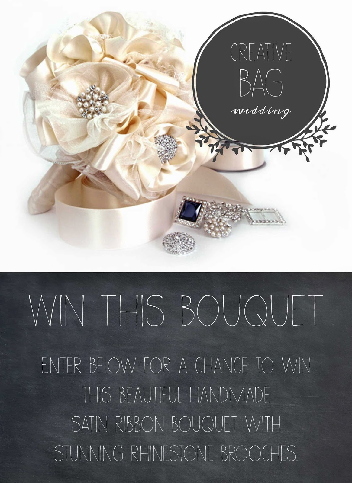 enter to win this beautiful handmade brooch bouquet | Creative Bag