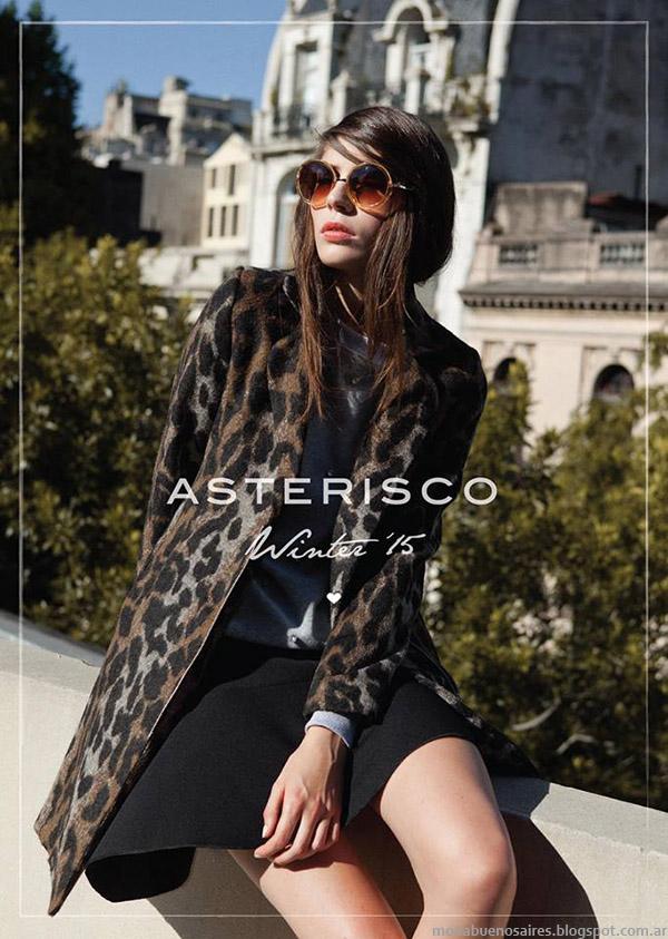 Asterisco otoño invierno 2015. Moda otoño invierno 2015.