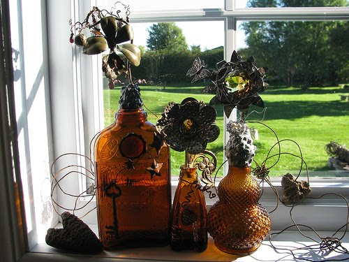 Enchanted Magic Potion Bottles