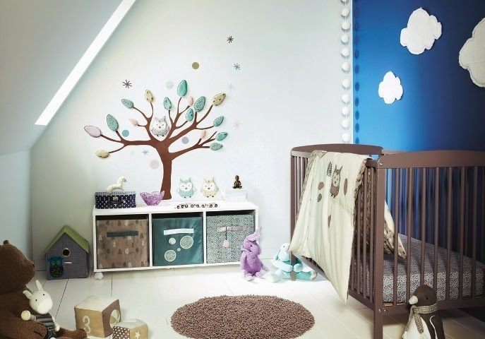 unique wall paint ideas baby room