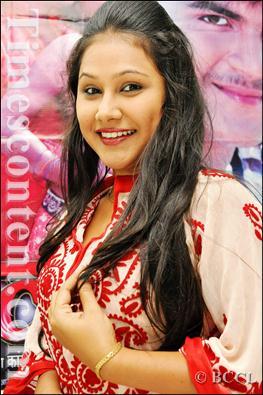 Priyanka Pandit  Shooting of Film Dahshat in Azamgarh, U.P.