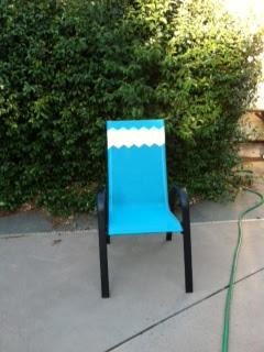 Missoni inspired DIY chair