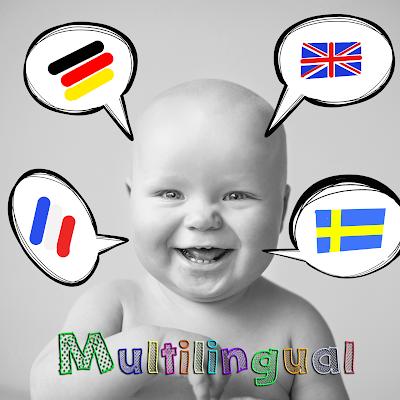 Das Gehirn eines Kindes kann sprachen unheimlich gut verarbeiten