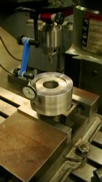 using indicol and indicator to find center on milling machine