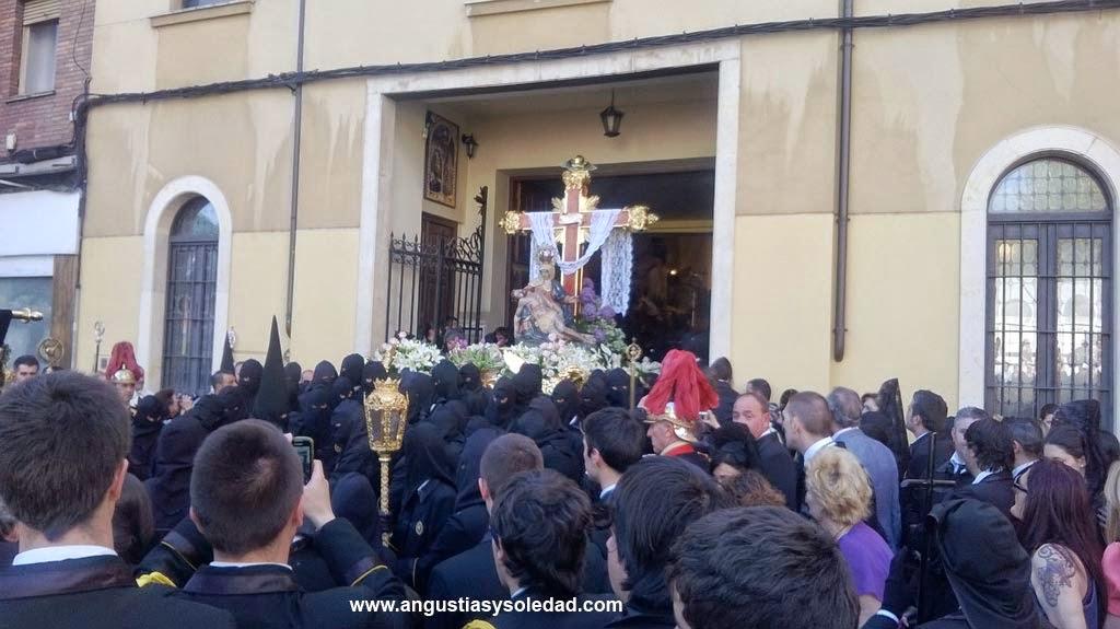 Procesion Entierro Angustias y Soledad Leon