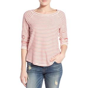 Nordstrom Striped Sweatshirt