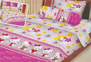 Sprei Fairmont Hello Kitty 2