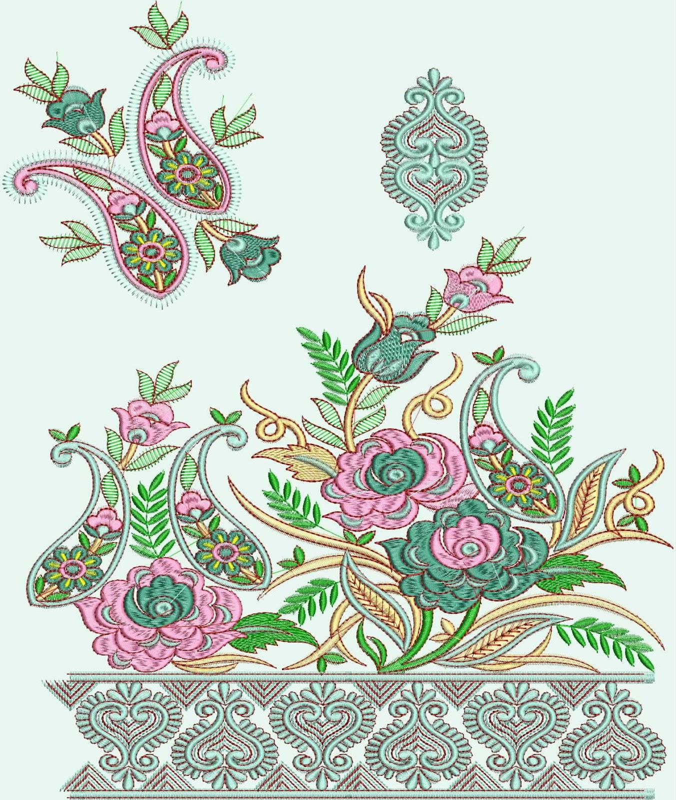 29 amazing saree embroidery patterns makaroka kancheepuram sarees embroidery designs embdesigntube bankloansurffo Images