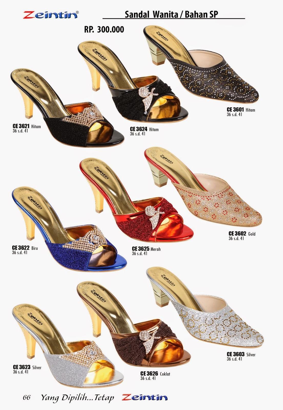 Sandal Pesta Zeintin Katalog Edisi Brilian 11