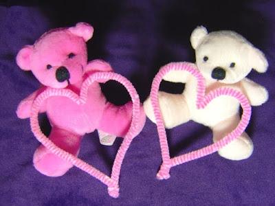 Gambar Wallpaper Boneka Beruang Couple Love