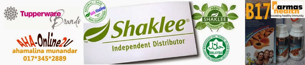 AHA online shop ~ Tupperware, Shaklee, Apricon b17 & .....