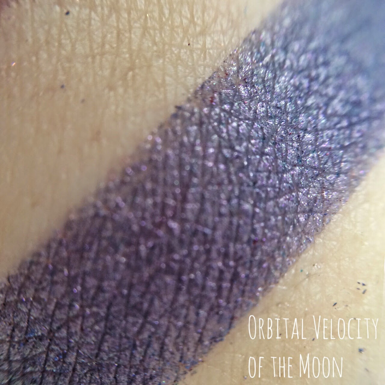 Orbital Velocity of the Moon Terry Pratchett Inspired makeup