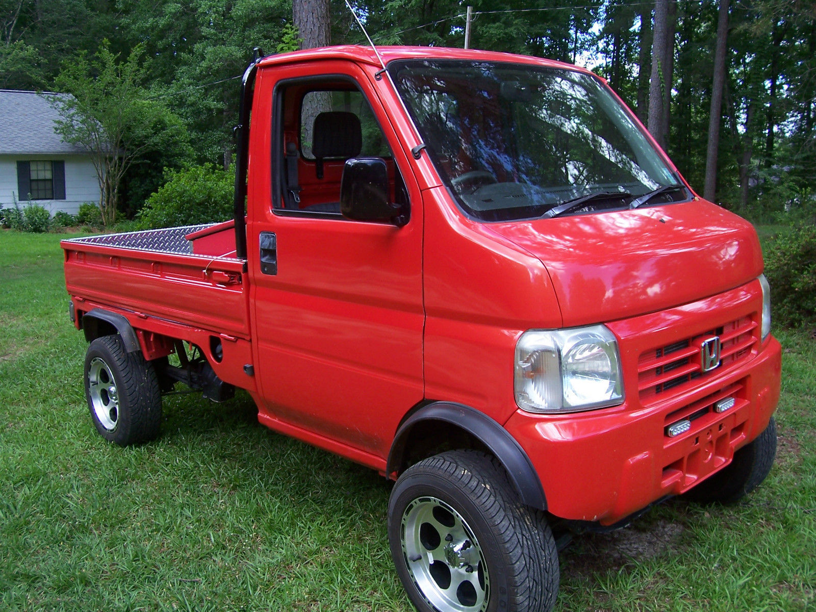 daily turismo little red 2001 honda acty mini truck. Black Bedroom Furniture Sets. Home Design Ideas