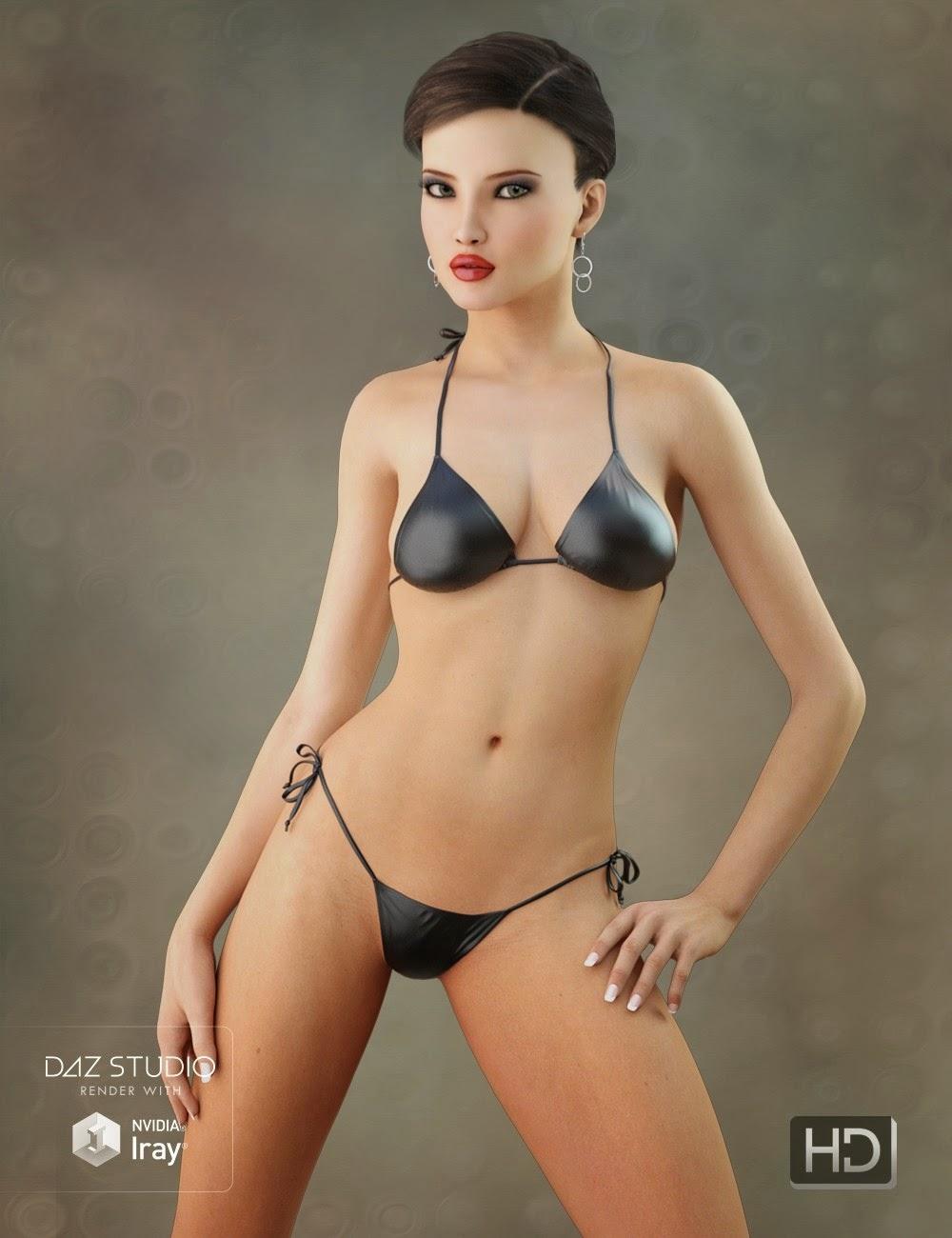 3d Models Art Zone - LYFW Adrienne HD for Victoria 6